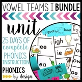 Phonics By Design Vowel Teams Unit BUNDLE