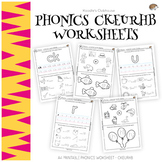 Phonics CKEURHB worksheets