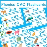 Phonics CVC Flashcards Sample | Phonics Resources | 10 Pages