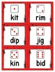 Phonics Game Short Vowel CVC Words with Apple Friends