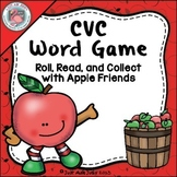 Phonics Game Short Vowel CVC Words with Apple Friends