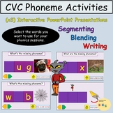 CVC Words PowerPoint Presentations  Whole Class Activities
