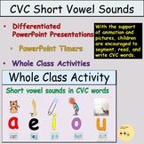 CVC Medial Vowels Phonics PowerPoint Presentations