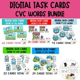 Phonics CVC Words Digital Task Card Bundle!