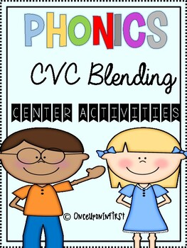 Phonics CVC blending