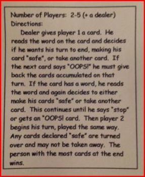 3 Phonics Card Games
