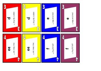 Phonics Card Game