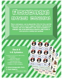Phonics Card Games - V-E syllables (Deck 6)
