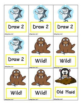 Phonics Card Games - V-E syllables (Deck 6)