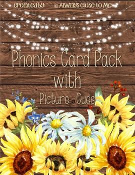 Phonics Card Pack with Picture Cues