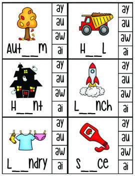 Phonics Clip Cards