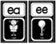 Phonics Cards: Black and White