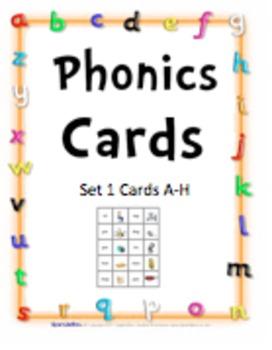 Phonics Cards - Complete Set