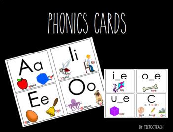 Phonics Cards (Growing Bundle)