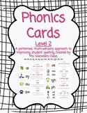 Phonics Flash Cards - Level 2