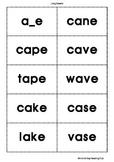 Phonics Cards Long Vowels