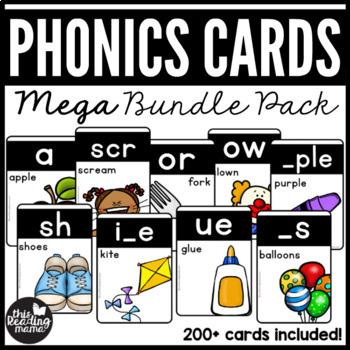 Phonics Cards - MEGA Bundle Pack