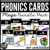Phonics Cards - MEGA Bundle Pack