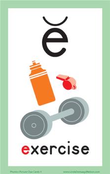 Phonics Cards Short Vowels Set