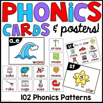 Phonics Cards and Posters