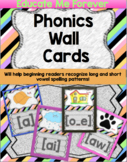 Phonics Cards and Vowel Digraphs