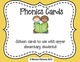 Phonics Cards for Upper Elementary