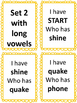 Phonics Center: Digraphs- I have... Who has?