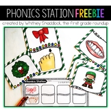 Phonics Center FREEBIE for Kindergarten