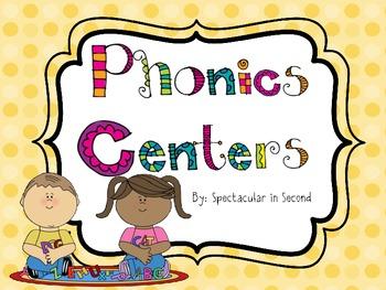 Phonics Center Games