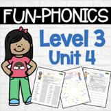 Phonics Center Work Level 3 Unit 4