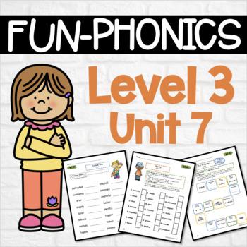 Phonics Center Work Level 3 Unit 7