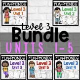 FUN-Phonics Level 3 Units 1-4 BUNDLE