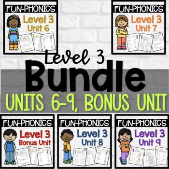 FUN-Phonics Level 3 Units 5-7 BUNDLE