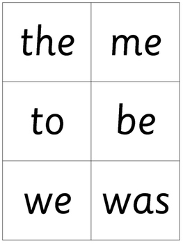 Phonics Center - Yes No Question cards - Flashcards - Tricky Words - Print&Go!