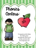 Phonics Centers:  Digraph SH