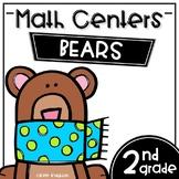 Math Centers Second Grade - Bears