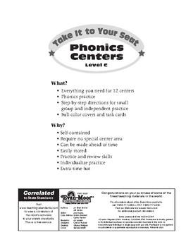 Phonics Centers, Grades 1-2