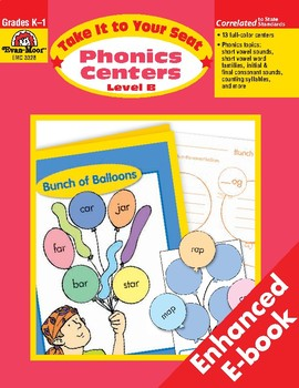 Phonics Centers, Grades K-1