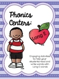 Long E Word Work - Phonics Centers Long E