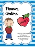 Long I Word Work - Phonics/ Centers