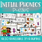 Phonics Centers for Initial Sound Puzzles