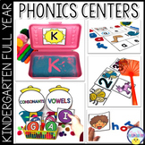Phonics  & ELA Centers for the Year: 35 Weeks of Centers