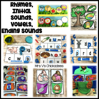Phonics Centers for the Year Pacing Guide: Suggested Phonics Schedule