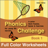 Phonics Challenge Book 1 Full Color Textbook