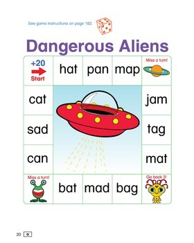 ESL Phonics Challenge, Book 1 - Page Pack 1