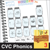 ESL Phonics Challenge, Book 1 - Page Pack 3
