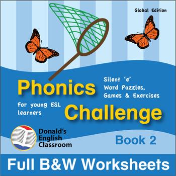 Phonics Challenge, Book 2 - Full BW Textbook