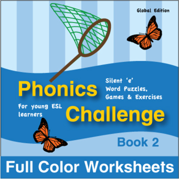 Phonics Challenge, Book 2 - Full Color Textbook