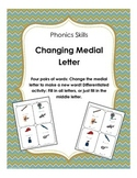 Phonics: Change Medial Letter