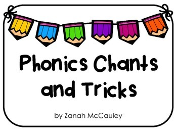 Phonics Chant and Tricks Posters